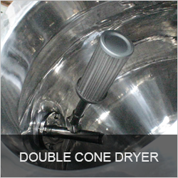 DOUBLE CONE DRYER